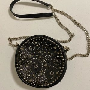 Small circular purse with star detailing